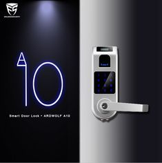 #Ardwolf #smartlock Ardwolf A10 Smart Lock is an advanced lock with OLED display, it works well with the elder and kids.