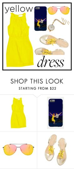 """""""499: LaLa Land"""" by alinepelle ❤ liked on Polyvore featuring Emilia Wickstead, Topshop and Bucherer"""