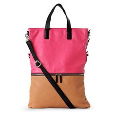 gorgeous geometric shopper- just the right size - spare pair of flats, sunglasses, lippie, perfume and mints! date-tastic