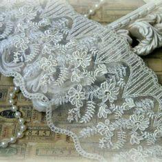 Beautiful french lace ~ Tresors de Luxe