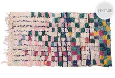 """2'11""""x5'9"""" Takiya Rag Rug on OneKingsLane.com, $459"""
