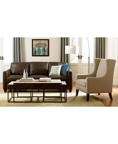 Sloane Fabric Accent Chair Direct Ship