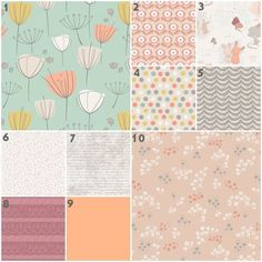Crib Bedding Neutral Cottontail in Rose (Baby Bedding Crib Set) Mint Peach Gray Tan Mustard Taupe Muave Bunny Nursery Set Bunny Nursery, Baby Nursery Bedding, Crib Bedding, Girl Nursery, Nursery Decor, Nursery Ideas, Taupe Color Schemes, Toddler Quilt, Fabric Combinations