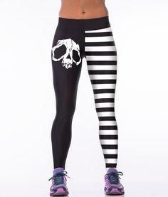 Imprimé Tigre Legging Femme Filles Super taille haute Wild Party Leggings Pantalon