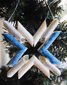 Activities: Pasta Christmas Ornaments. So cool, and opportunities for geometry!!!