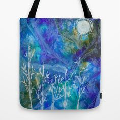 A Frozen Night Tote Bag