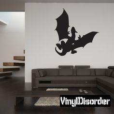 Dragon Wall Decal - Vinyl Decal - Car Decal - 011
