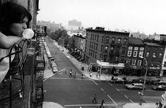 Mary Ellen Mark. Jeanette Alejandro in the window, Brooklyn 1978 #fineartphotography