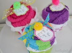 sock cupcakes beneathmyheart.net