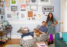 A Room-by-Room Guide to Making Your Apartment Look Like a Grown-Up Lives There via Brit + Co