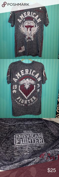 Brand New American Fighter Shirt Men's American Fighter shirt. Worn only once. Size Medium straight from the Buckle! No problems American Fighter Shirts Tees - Short Sleeve