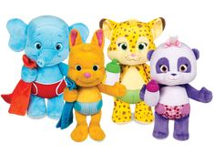 Word Party - Snuggle & Play Babies Plush