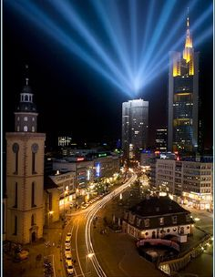 Best Cities In Germany, Germany And Italy, Germany Travel, Frankfurt Germany, European Travel, Travel Europe, Best Places To Live, Beautiful Places In The World, Birds Eye View