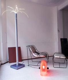 Sanremo palm lamp by Archizoom Associati 1968