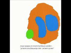 Boekje 'Blauwtje en geeltje' over kleuren mengen