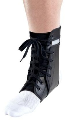 Thermoskin Ankle Armour is a rigid brace which provides medial and lateral support for people with a history of ankle injuries.