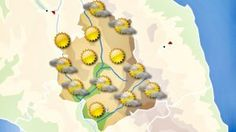 Cieli sereni, temperature in calo in Umbria