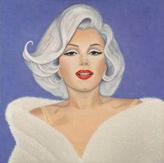 I created this painting of Marilyn Monroe from 3 images. The expression on her face was from the cover a book, while the outfit and hairstyle came from 2 other images on the night that she sang Happy Birthday to John F. Kennedy at Madison Square Garden. In an odd twist of fate, I was introduced to the man who styled  Marilyn's the night of that event, and I aptly named the painting after him, as I needed a proper title for the painting since it was to be published in the book 'Marilyn in…
