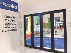 OpenMAX Premium - il serramento multi-anta in Thermofibra. #MADEexpo #Deceuninck #OpenMAX #Thermofibra