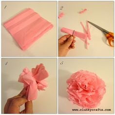 #clunkycrafts.com #Pom-Pom #Garland #tutorial  Great for #gift wrapping and wall #décor. #DIY