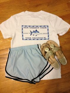 Southern Tide, Nike, Jack Rogers- this basically sums up every southern girls wardrobe