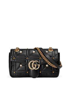 8a2fd726b613 GG Marmont Small Pearly Shoulder Bag Kate Spade Handbags