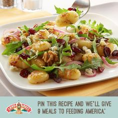 Help us fight hunger in partnership with Feeding America when you pin or repin Land O'Lakes recipes. Learn more at www.landolakes.com/pinameal.