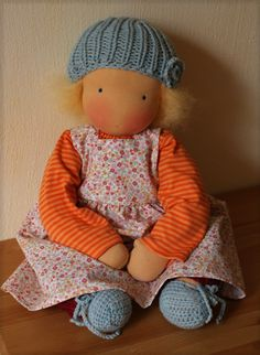 Salma, Waldorf Doll Poupée ... visit pinned from board to see more of this style doll