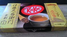 Japanese Roastet Tea KitKat so gooood #tea #greentea #teatime #win #90sBabyFollowTrain
