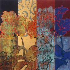 Résultat d'images pour robert kushner artist Ink Painting, Watercolor Paintings, Robert Kushner, Art Plastique, Painting Inspiration, Collage Art, New Art, Flower Art, Printmaking