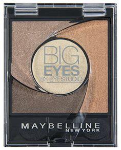 Maybelline Big Eyes Eyeshadow Palette 01 Luminous Brown 5g