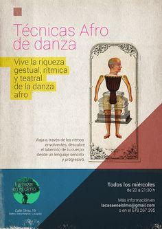 La casa en el Olmo, cartel danza. Pixtorm.com