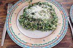 Risotto mit Spinat und Gorgonzola (Rezept mit Bild) | Chefkoch.de