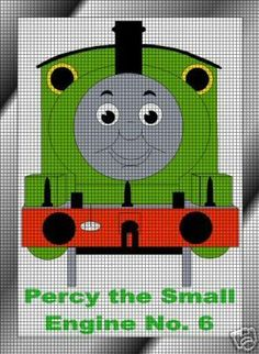 Percy The Train Engine Crochet Pattern
