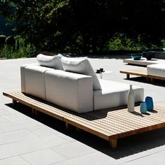 Outdoor Sectional, Sectional Sofa, Garden Loungers, Modul Sofa, Outdoor Furniture Sets, Outdoor Decor, Casual, Home Decor, Outdoor Furniture