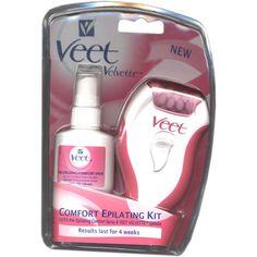 Veet Velvette Comfort Epilating Kit, Epilator and Comfort Sp $59.99
