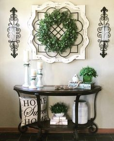 Are you looking for images for farmhouse living room? Browse around this site for very best farmhouse living room pictures. This particular farmhouse living room ideas seems to be entirely amazing. Decoration Birthday, Decoration Bedroom, Decoration Design, Entryway Decor, Rustic Entryway, Entryway Ideas, Teal Bathroom Decor, Hallway Wall Decor, Home Decoration
