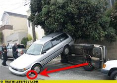 Funny Car Accident Picture For Facebook
