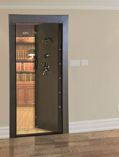 American Security VD8036NFIS Vault Door In-Swing & ProSteel Vanguard Tornado u0026 Storm Door | Gun Storage Ideas ...