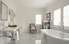 VT Interiors - Library of Inspirational Images: Bathroom Of The Day