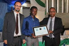 2013 Innovation Prize awarded at Sierra Leone's first Social Good Summit. #2030Now