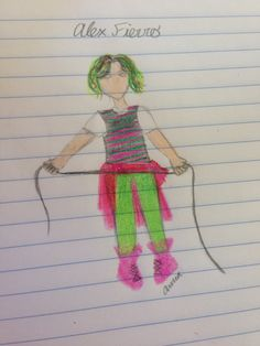 Alex Fierro from Magnus Chase and the Gods of Asgard; The Hammer of Thor. Alex Fierro, Magnus Chase, Rick Riordan Books, Uncle Rick, Thors Hammer, Tmnt, Percy Jackson, Hetalia, Troll