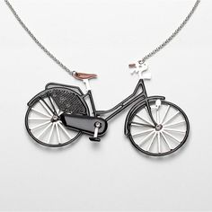 Bicycle Inspired Jewelry  http://www.letmebike.eu/blog/jewelry-design-iii/