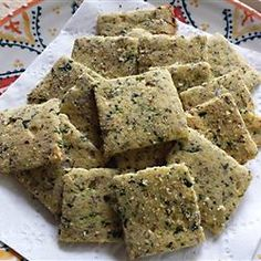 """Killer Crackers Allrecipes.com / """"Made especially for a paleo or ketogenic diet, as these are low in carbs but high in protein and fat. Also check out my 'Polar Bear Bars' and 'The Bearette's Croquettes'!"""""""