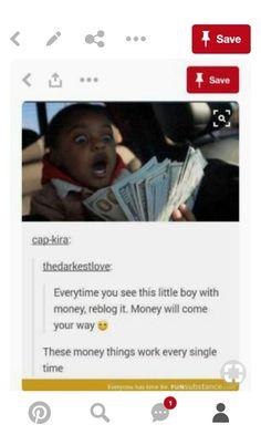 Reblog this,money will come  your  way . HaHaHaHaHaHaHaHaHaHaHaHa this is a lay.