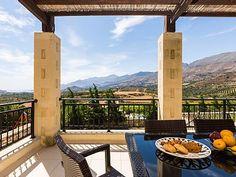 Rethymno villa rental - Have your breakfast at the veranda! Private Pool, Thalia, Swimming Pools, Bbq, Villa, Breakfast, Building, Amazing, Beach