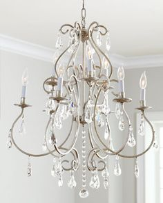 """Delicacy"" Chandelier at Horchow."