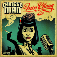 Chinese Man - Miss Chang EP (Front)