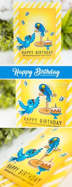 Celebrating Heffy Doodle 1st birthday + June Release | Mona Toth | Cardmaking and Scrapbooking