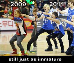 SHINee - they will never grow up!